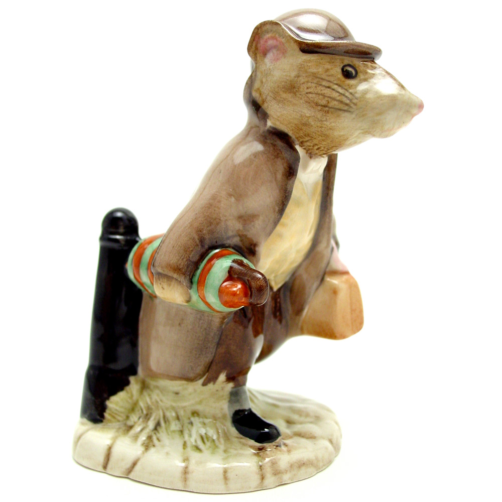 Johnny Town-Mouse (With Bag) - Royal Albert - Beatrix Potter Figurine