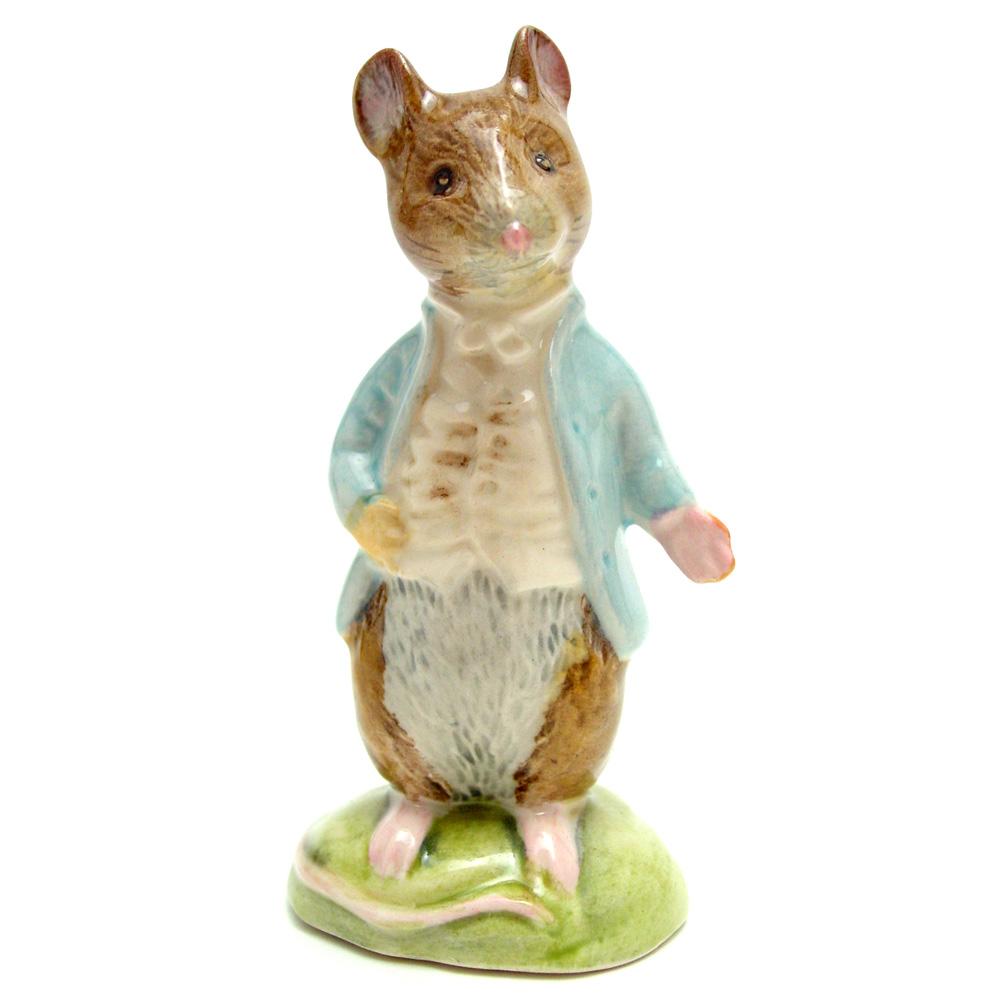 Johnny Town-Mouse - Royal Albert - Beatrix Potter Figurine