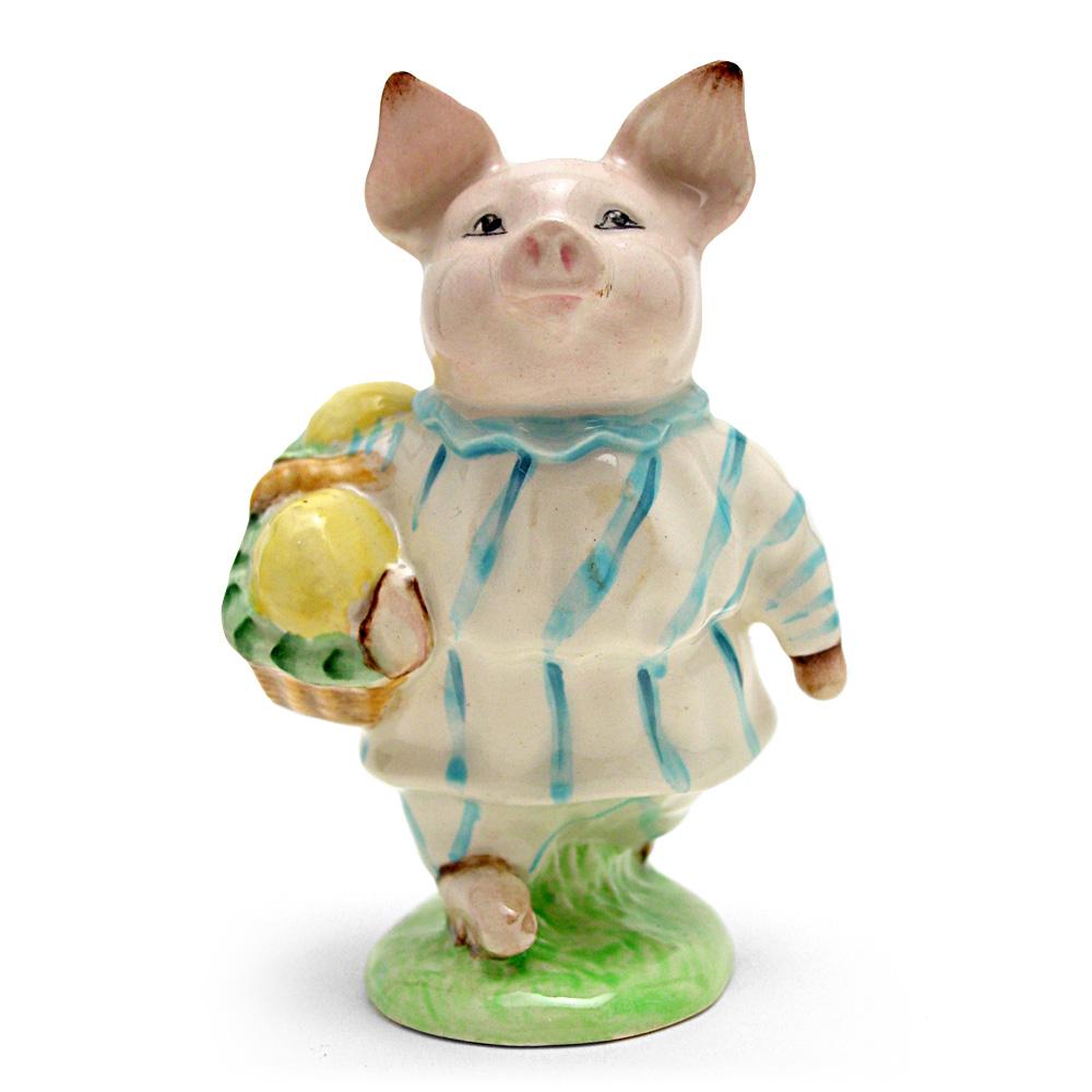 Little Pig Robinson (Striped Pajamas) - Beswick - Beatrix Potter Figurine