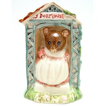 Miss Dormouse - Royal Albert - Beatrix Potter Figurine