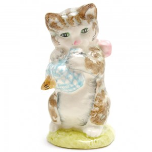 Miss Moppet (Striped) - Beswick - Beatrix Potter Figurine