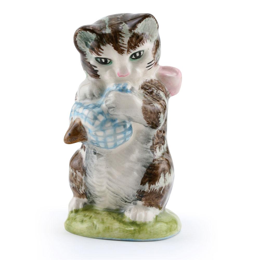 Miss Moppet Striped - New Beswick - Beatrix Potter Figurine