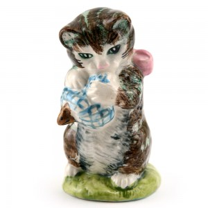 Miss Moppet (Striped) - Royal Albert - Beatrix Potter Figurine