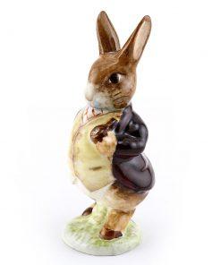 Mr Ben Bunny PipeIn DarkJck BSW - Beatrix Potter Figurine
