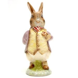 Mr. Benjamin Bunny (Pipe In - Lilac Jacket) - Beswick - Beatrix Potter Figurine