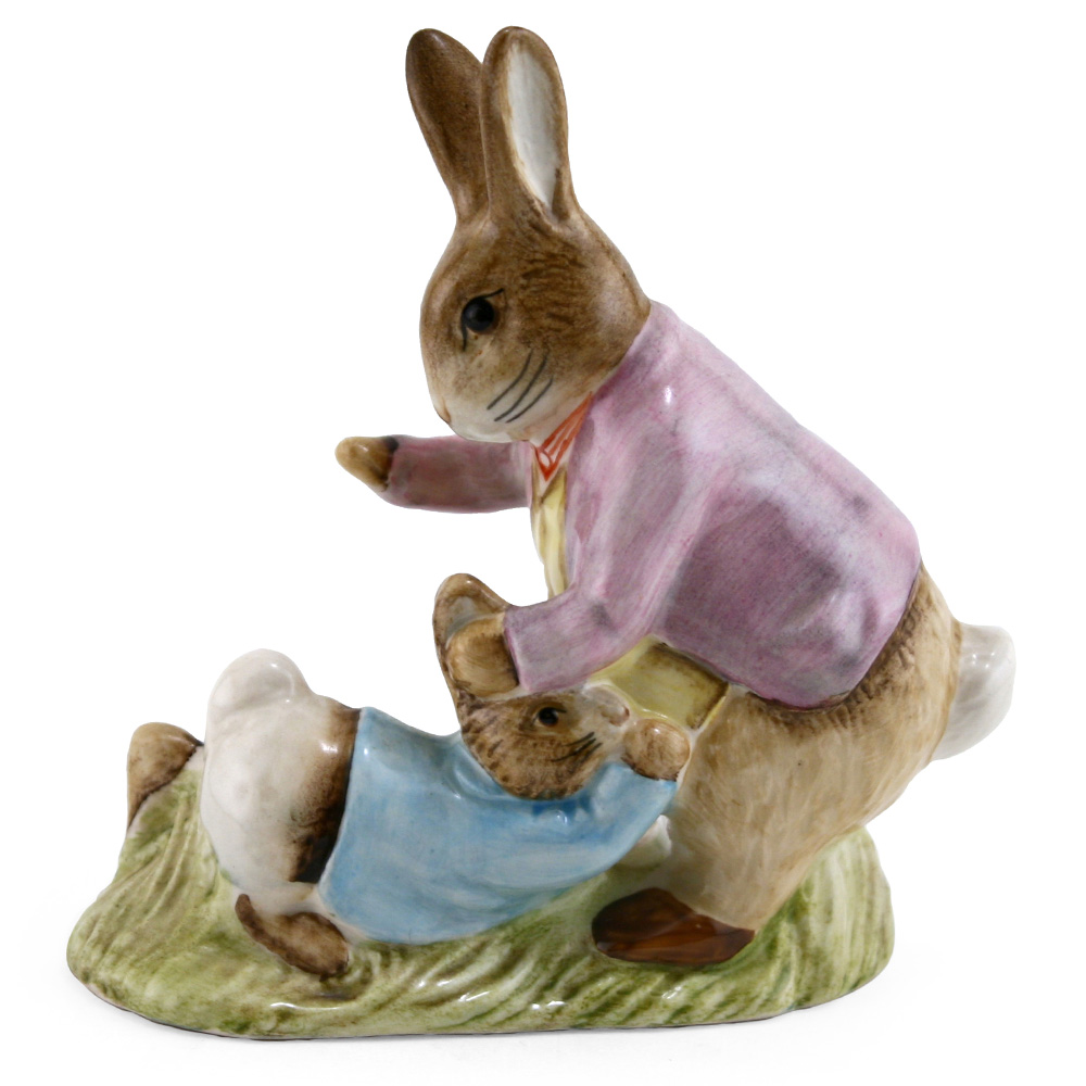 Mr. Benjamin Bunny & Peter - Royal Albert - Beatrix Potter Figurine