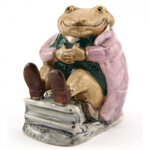 Mr. Jackson Brown Toad - Beswick - Beatrix Potter Figurine
