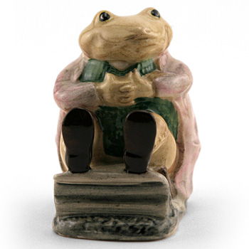 Mr. Jackson Brown Toad - Royal Albert - Beatrix Potter Figurine