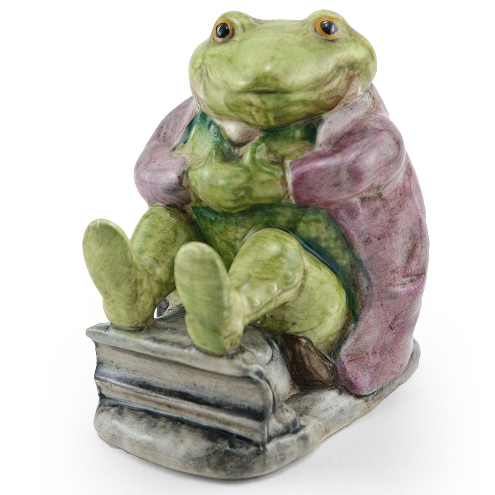 Mr. Jackson Green Toad BSWK - Beatrix Potter Figurine