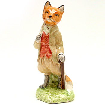 Mr. Tod - Royal Albert - Beatrix Potter Figurine
