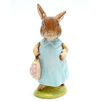 Mrs. Flopsy Bunny - New Beswick - Beatrix Potter Figurine