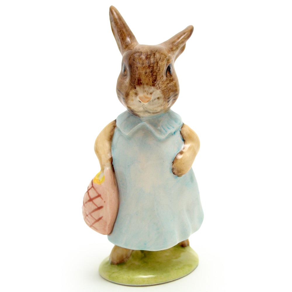 Mrs. Flopsy Bunny - Royal Albert - Beatrix Potter Figurine