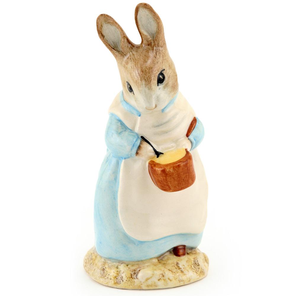 Mrs. Rabbit Cooking - Royal Albert - Beatrix Potter Figurine