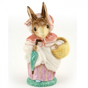 Mrs. Rabbit (Large) - Royal Albert - Beatrix Potter Figurine
