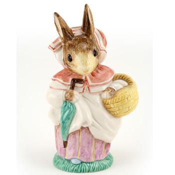 Mrs. Rabbit (Large) - Royal Albert - Beatrix Potter Figurine