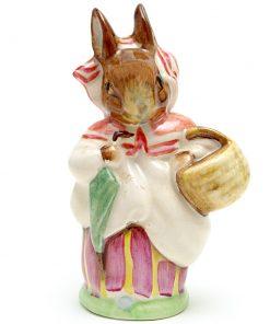 Mrs. Rabbit (Umbrella In) - Beswick - Beatrix Potter Figurine
