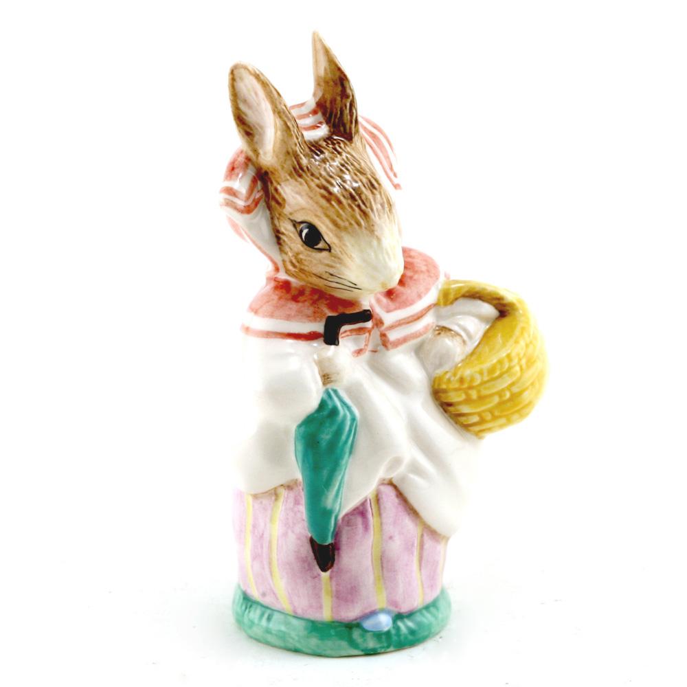 Mrs. Rabbit (Umbrella In) - Royal Albert - Beatrix Potter Figurine