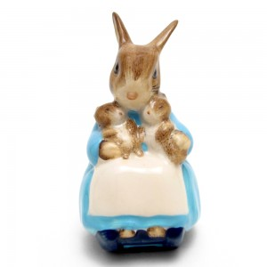 Mrs. Rabbit and Bunnies - Beswick - Beatrix Potter Figurine