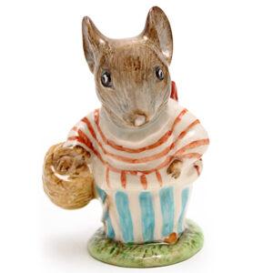 Mrs. Tittlemouse - Beswick - Beatrix Potter Figurine