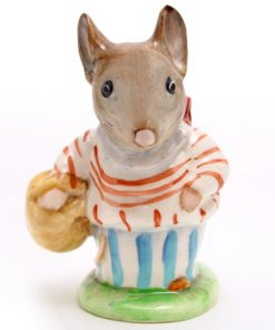 Mrs. Tittlemouse - Gold Circle - Beatrix Potter Figurine
