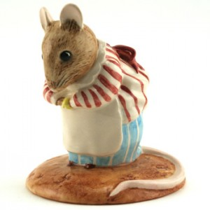 Mrs. Tittlemouse - New Beswick - Beatrix Potter Figurine