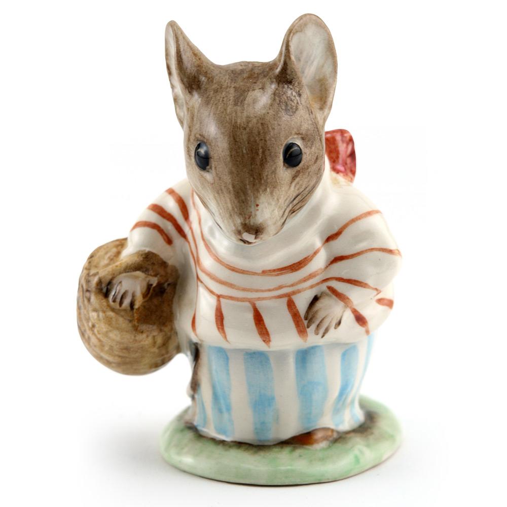 Mrs. Tittlemouse - Royal Albert - Beatrix Potter Figurine