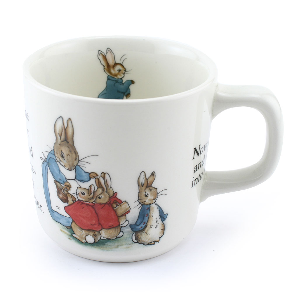 Mug - Wedgwood - Beatrix Potter Figurine