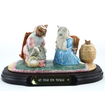 My Dear Son Thomas (Tableau) - Beatrix Potter Figurine