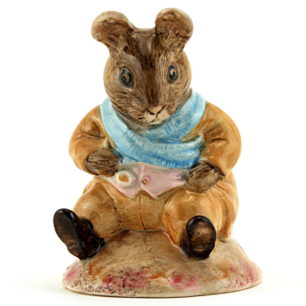 Old Mr. Bouncer - Royal Albert - Beatrix Potter Figurine