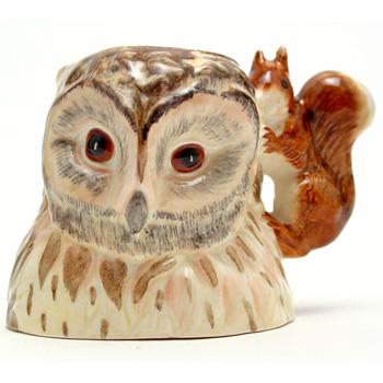 Old Mr. Brown (Character Jug) - Beswick - Beatrix Potter Figurine