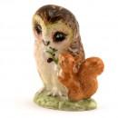 Old Mr. Brown - Royal Albert - Beatrix Potter Figurine