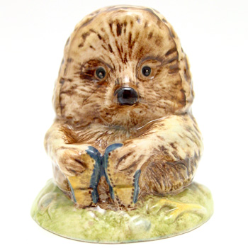 Old Mr. Pricklepin - Beswick - Beatrix Potter Figurine