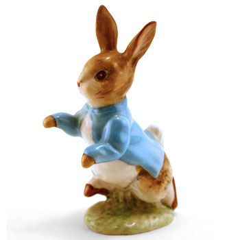 Peter Rabbit - Gold Circle - Beatrix Potter Figurine