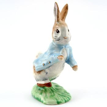 Peter Rabbit (Gold Buttons Small) - Beatrix Potter Figurine