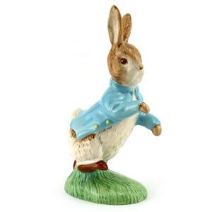 Peter Rabbit (Large - Yellow Buttons) - Beswick - Beatrix Potter Figurine