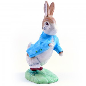 Peter Rabbit (Satin Finish) - New Beswick - Beatrix Potter Figurine