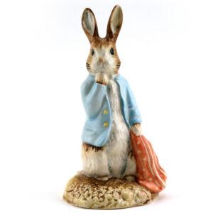 Peter and the Red Pocket Handkerchief - Royal Albert - Beatrix Potter Figurine