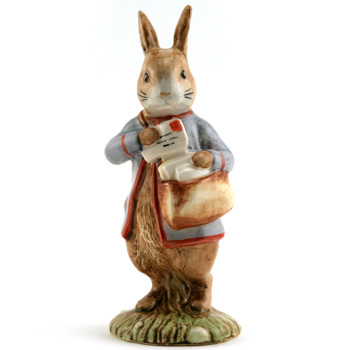 Peter (with Postbag) - Royal Albert - Beatrix Potter Figurine