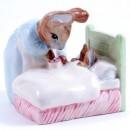 Peter in Bed - New Beswick - Beatrix Potter Figurine