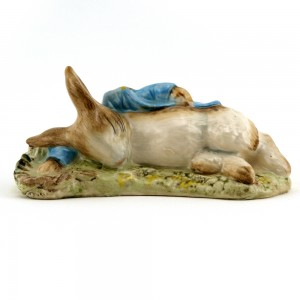 Peter in the Gooseberry Net - Royal Albert - Beatrix Potter Figurine