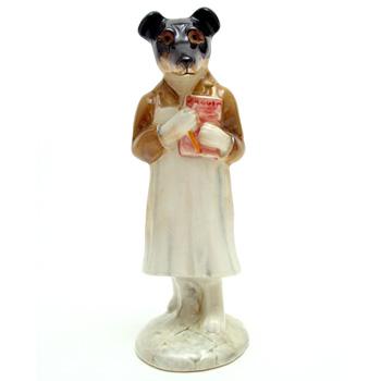 Pickles - Gold Oval - Beatrix Potter Figurine