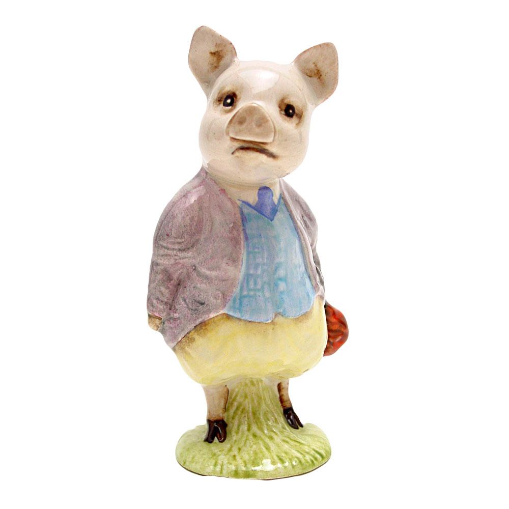 Pigling Bland (Lilac Jacket) - Beswick - Beatrix Potter Figurine