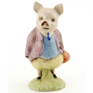 Pigling Bland (Lilac Jacket) - New Beswick - Beatrix Potter Figurine