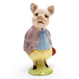 Pigling Bland (Lilac Jacket) - Royal Albert - Beatrix Potter Figurine