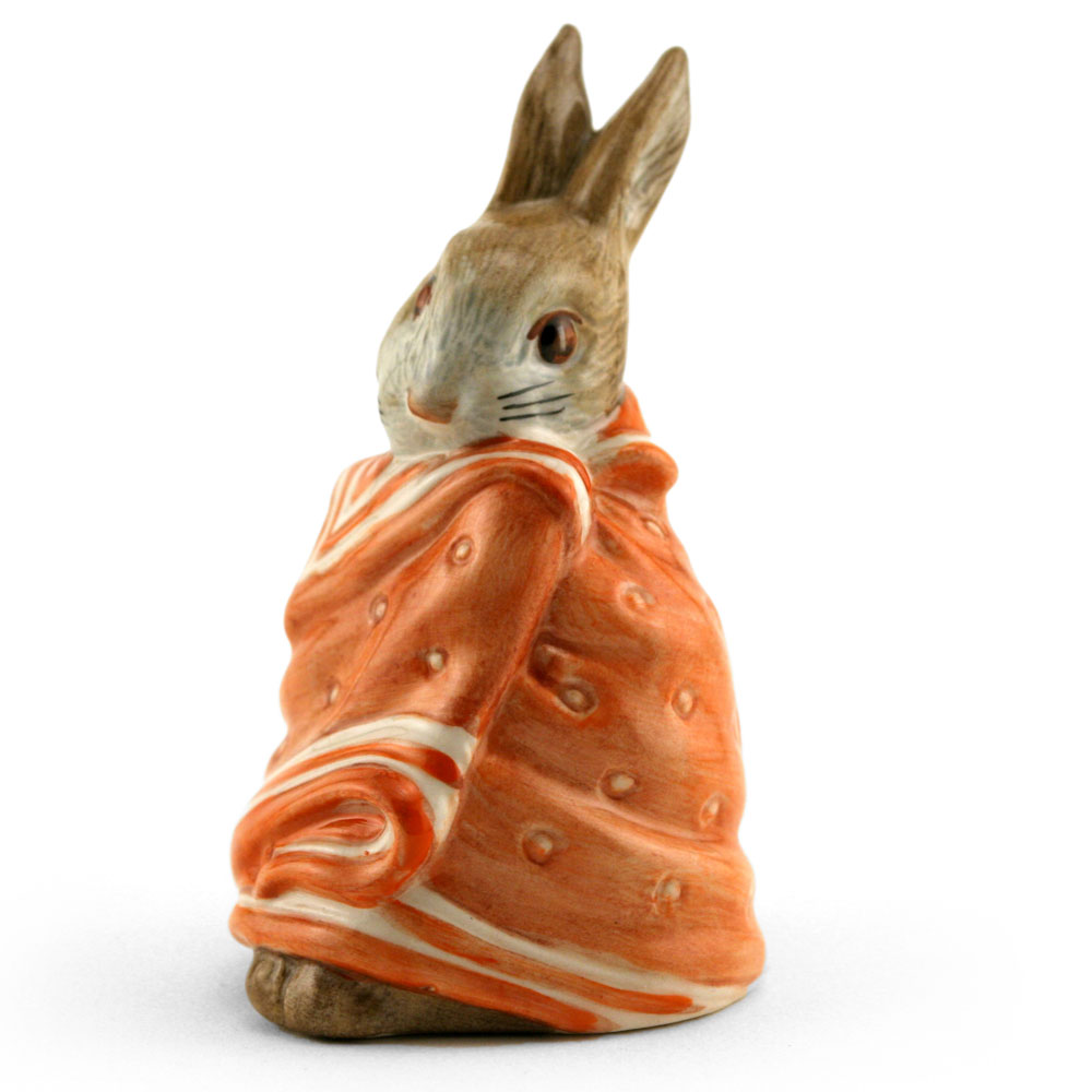 Poorly Peter Rabbit - Royal Albert - Beatrix Potter Figurine