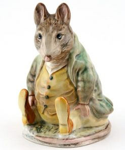 Samuel Whiskers - Gold Circle - Beatrix Potter Figurine