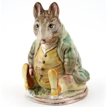 Samuel Whiskers - Gold Circle - Beatrix Potter Figurine