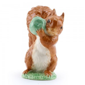 Squirrel Nutkin (GreenApple) - New Beswick - Beatrix Potter Figurine