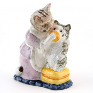 Tabitha Twitchit & Miss Moppet - Royal Albert - Beatrix Potter Figurine