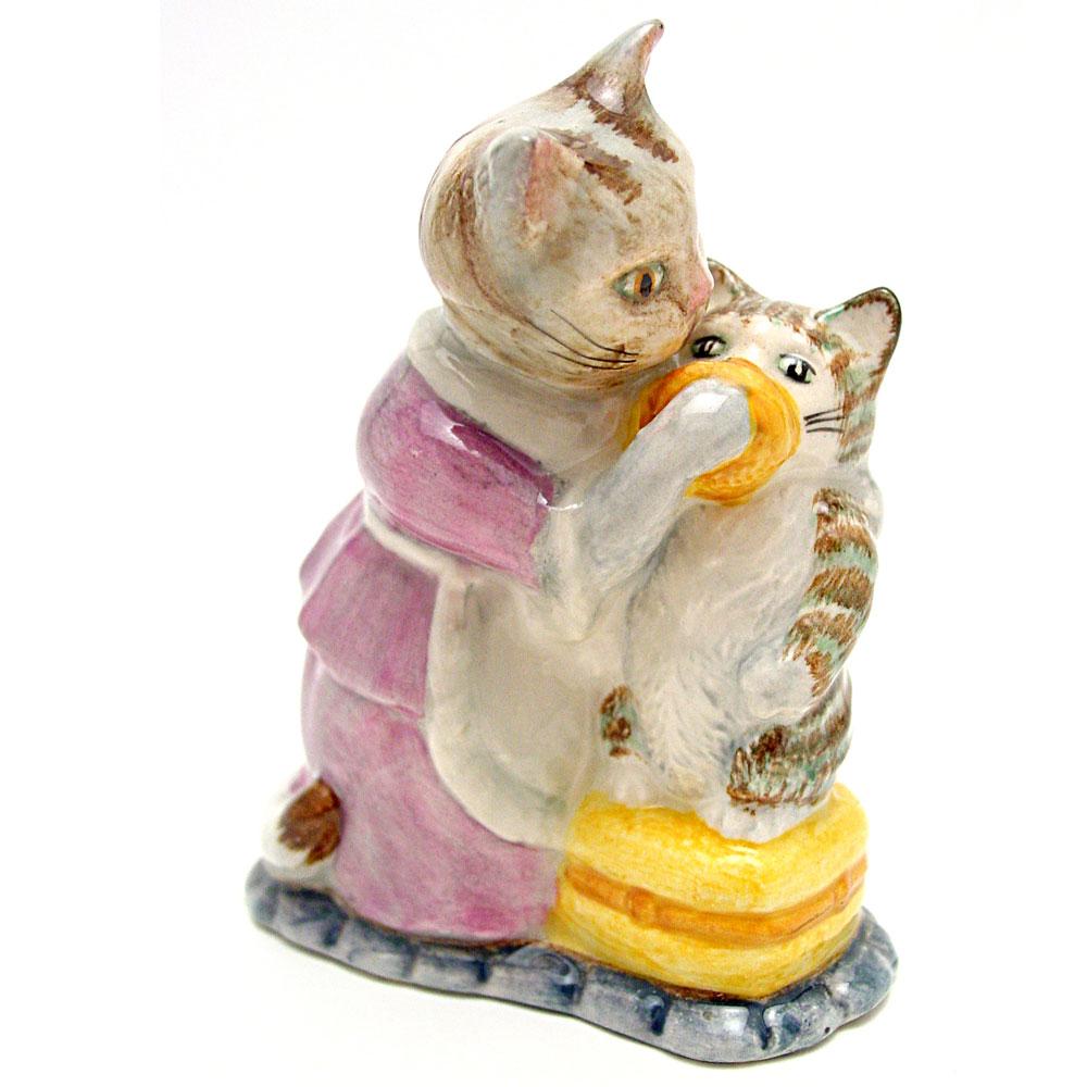 Tabitha Twitchit and Miss Moppet - Beswick - Beatrix Potter Figurine